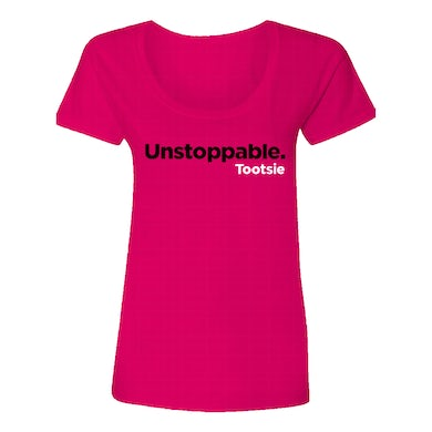 Tootsie The Musical Pink Unstoppable Tee