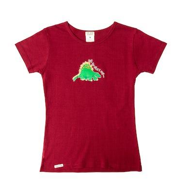 Laurie Berkner Ask Me What I Say . . . Ladies T-Shirt (Maroon)