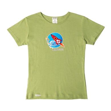 Laurie Berkner Blast Off Youth T-Shirt (Green)