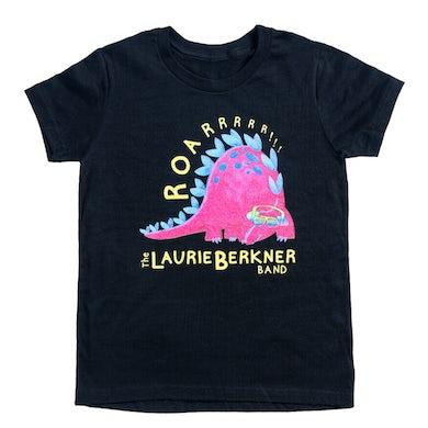 Laurie Berkner Dino Roar Youth T-Shirt (Black)