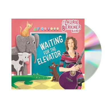 Laurie Berkner Waiting for the Elevator - CD