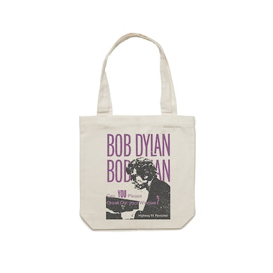 Bob Dylan Crawl Out Your Window Tote