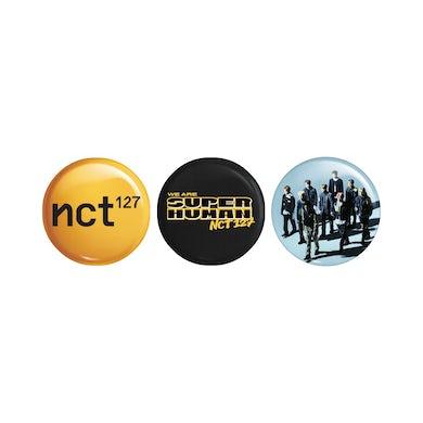 NCT 127 Superhuman 3pc Pin Set