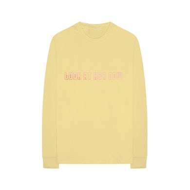 Selena Gomez Look At Her Now Yellow Long Sleeve