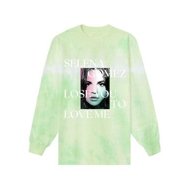 Selena Gomez Lose You To Love Me Tie Dye Long Sleeve