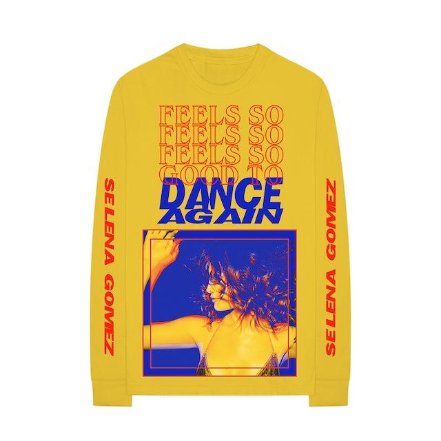 Selena Gomez Confidence Yellow Long Sleeve