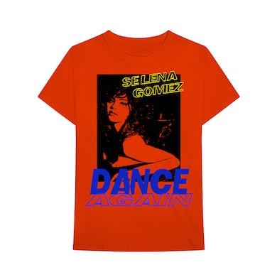 Selena Gomez Dance Again Red T-Shirt