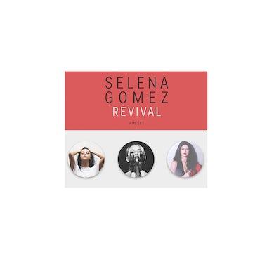 Selena Gomez Revival Pin Set