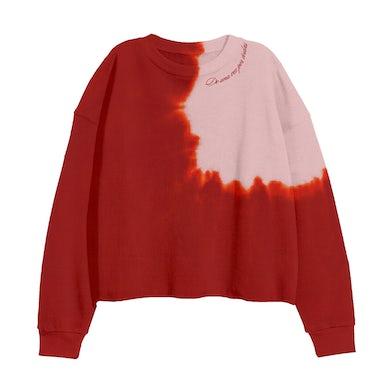 Selena Gomez Revelación Tie Dye Cropped Crewneck