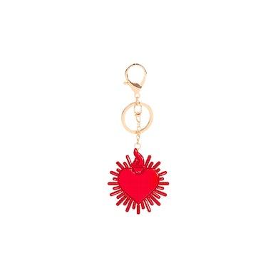 Selena Gomez Revelación Heart Keychain