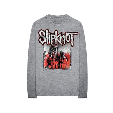Slipknot Red Jumpsuit Long Sleeve
