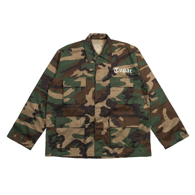 Tupac All Eyez On Me Camo Jacket