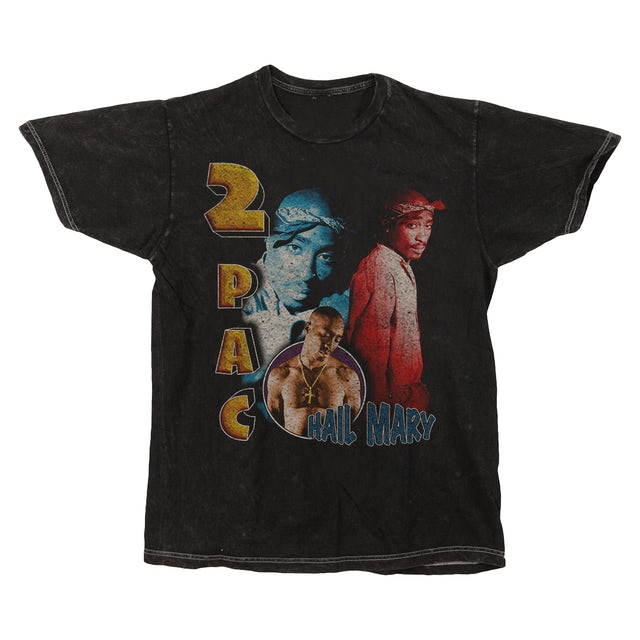 Tupac Hail Mary Washed T-Shirt