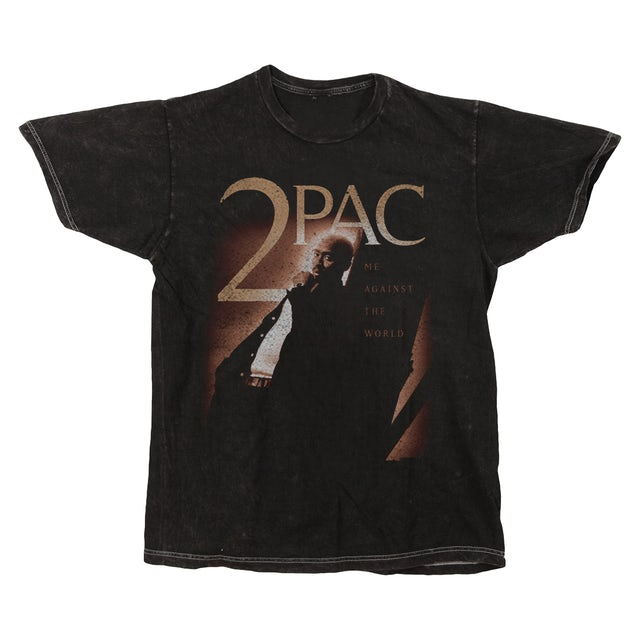 Tupac Me Against The World Washed T-Shirt