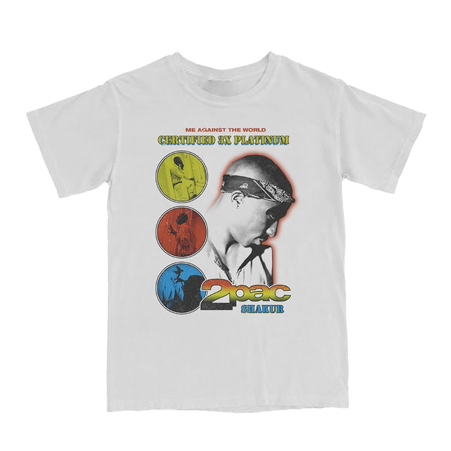 Tupac Me Against the World Colors T-Shirt