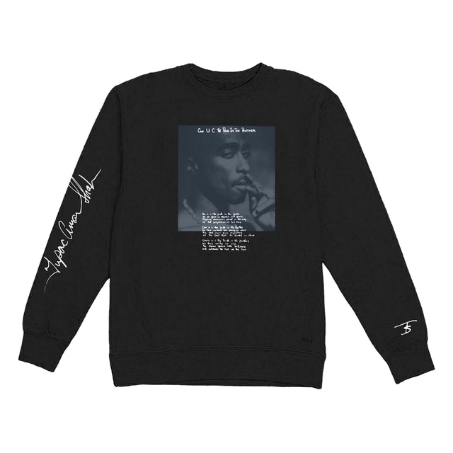 Tupac Pride Black Long Sleeve