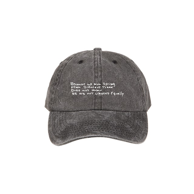 Tupac Family Tree Charcoal Dad Hat