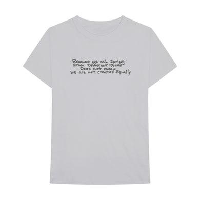 "Tupac ""Created Equally"" Grey T-Shirt"