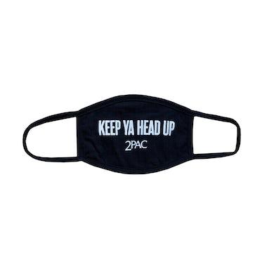 Tupac Keep Ya Head Up Cloth Face Covering
