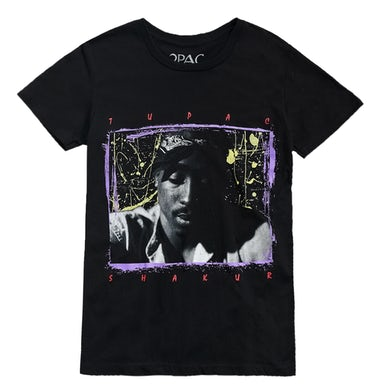 Tupac 90's Splatter T-Shirt