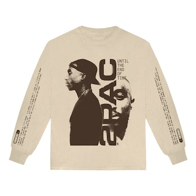Tupac Until the End of Time Tracklist Long Sleeve