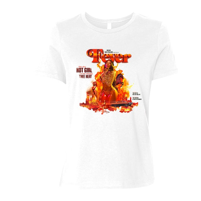 Megan Thee Stallion Fever Tee (Fitted)