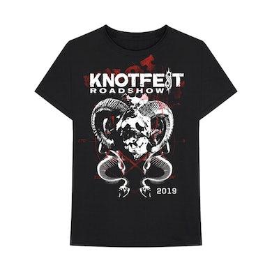 Slipknot Knotfest Horns and Snakes Tee