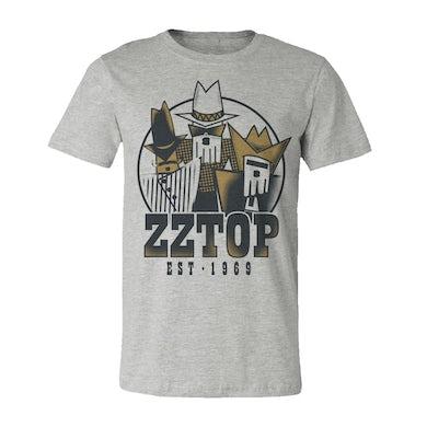 ZZ Top Tres Hombres Tour T-Shirt