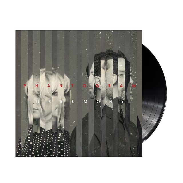 Phantogram Ceremony Black LP (Vinyl)