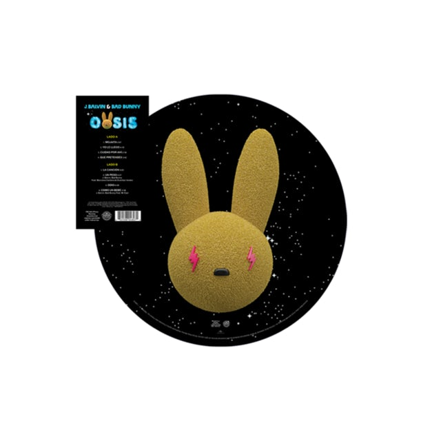 J Balvin & Bad Bunny 'Oasis' Picture Disc Vinyl