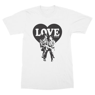 John Lennon Love Is Real T-Shirt (White)