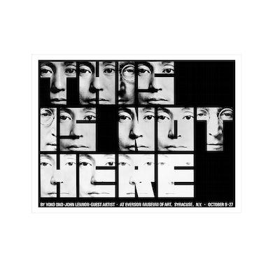 John Lennon This is Not Here Litho
