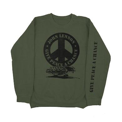 John Lennon Peace Crewneck Sweatshirt