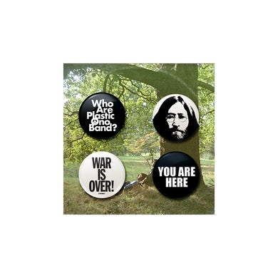 John Lennon Plastic Ono Band Button Set
