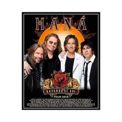 Mana Rayando El Sol Tour Poster