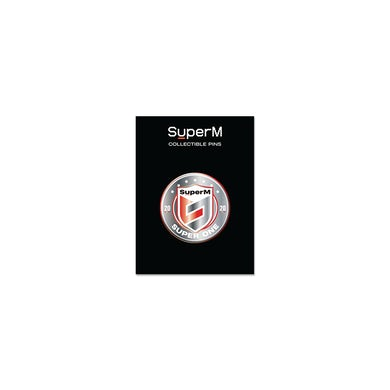 SuperM 'Super One' Collectable Metal Pin