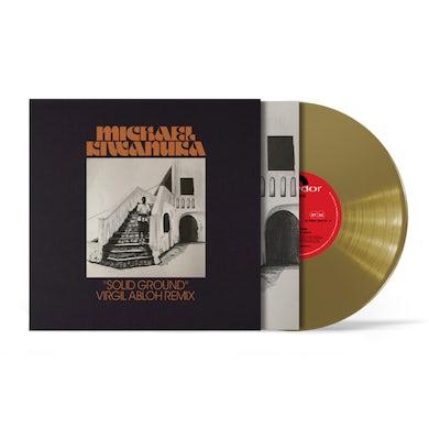 "Michael Kiwanuka Solid Ground (Virgil Abloh Remix) Single Heavyweight Gold 10"" Vinyl"