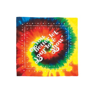 Britney Spears Let Your Love Show Bandana