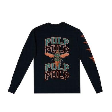 Ambre Black Pulp Long Sleeve T-Shirt