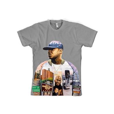 Jadakiss Album Art Grey T-Shirt