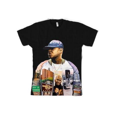 Jadakiss Album Art Black T-Shirt