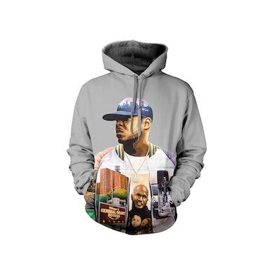 Jadakiss Album Art Grey Hoodie