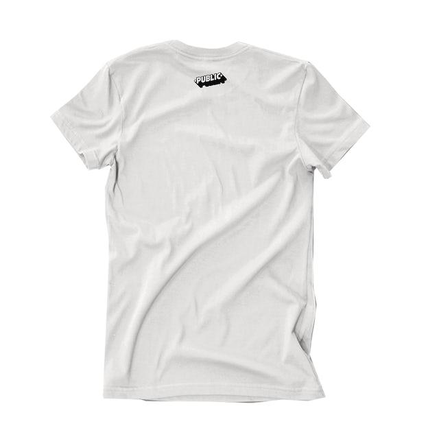 PUBLIC Make You Mine White T-Shirt