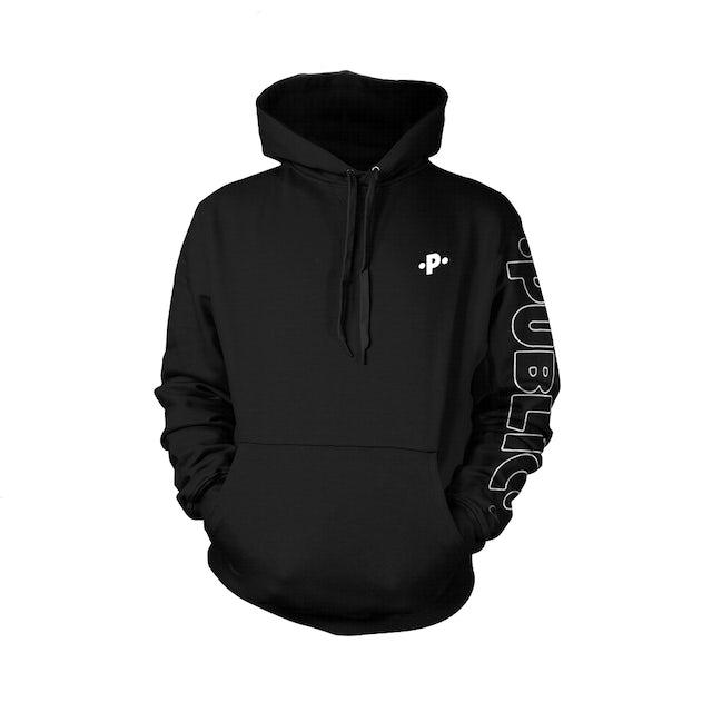 PUBLIC Black Hoodie