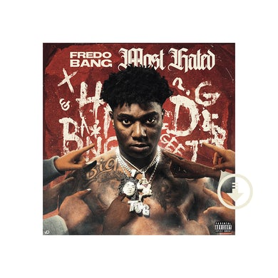 Fredo Bang Most Hated Digital Album