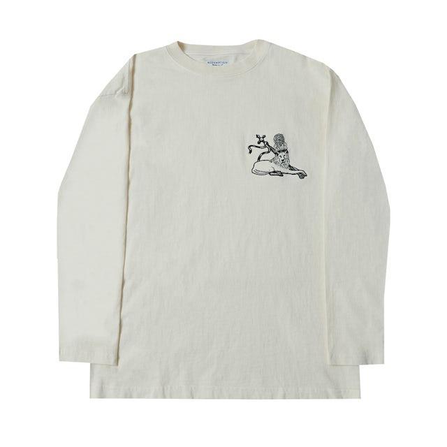 Bob Marley Lion Applique Long Sleeve Shirt