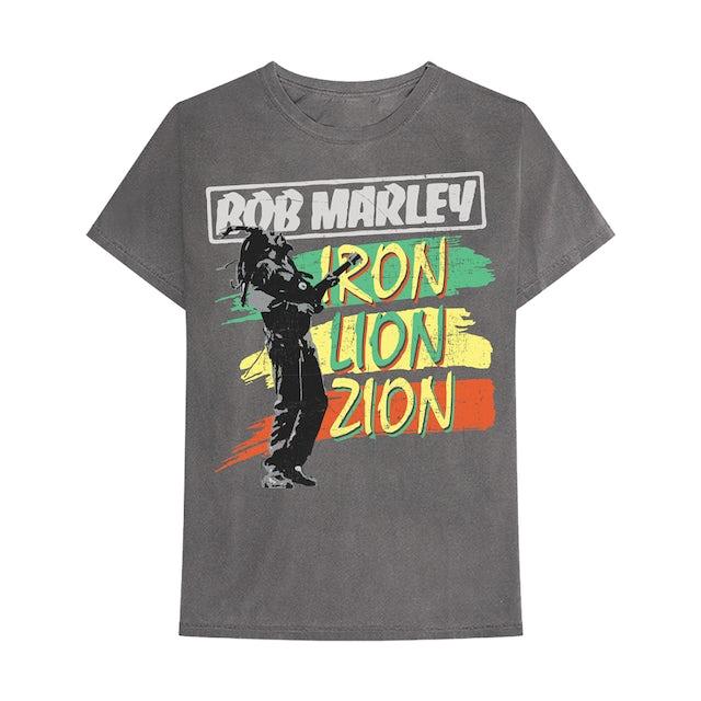 Bob Marley Vintage Iron Lion Zion T-Shirt