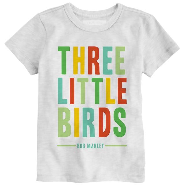 Bob Marley Three Little Birds Kids T-Shirt