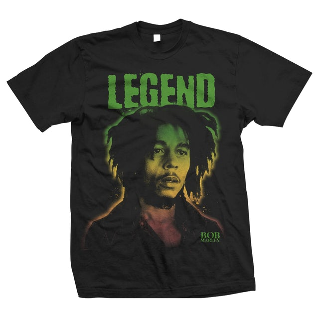 Bob Marley Legend Gradient T-Shirt