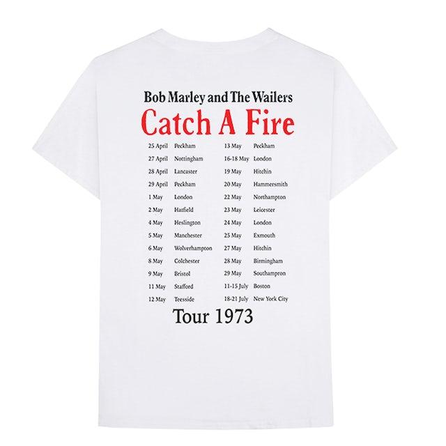 Bob Marley Catch a Fire '73 Tour T-Shirt